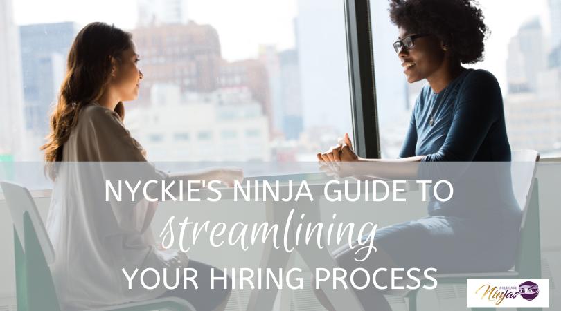 Ninja guide to streamlining your hiring process