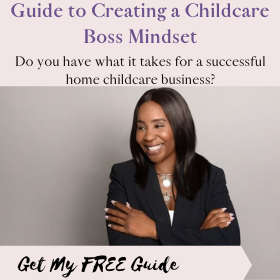 Childcare Ninja Free guide to Childcare Boss Mindset