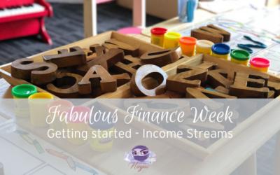 Fabulous Finance Week – income streams