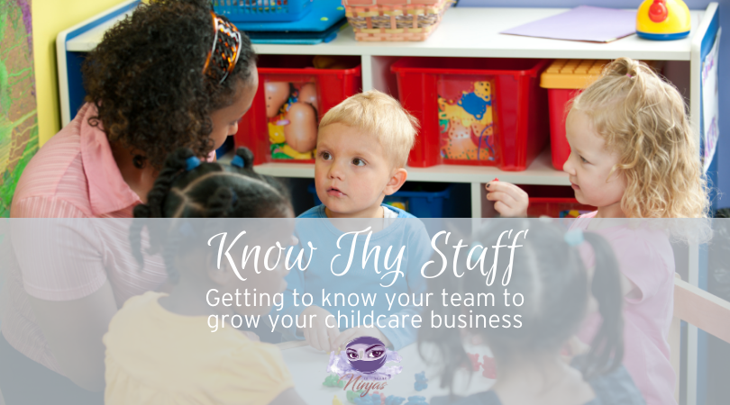 Know Thy Staff: getting to know your team