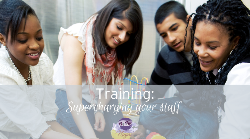 Supercharging your childcare staff with their training