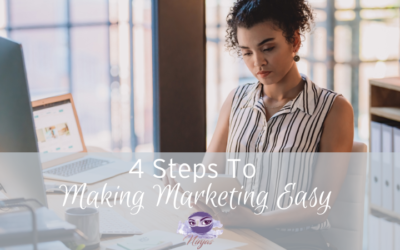 4 steps to making marketing easy
