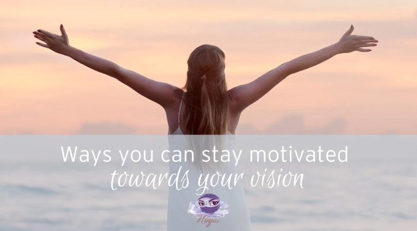 ways to stay motivated on your vision 2021 childcare ninjas title image