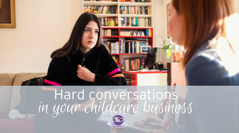How to deal with hard conversations in your childcare business