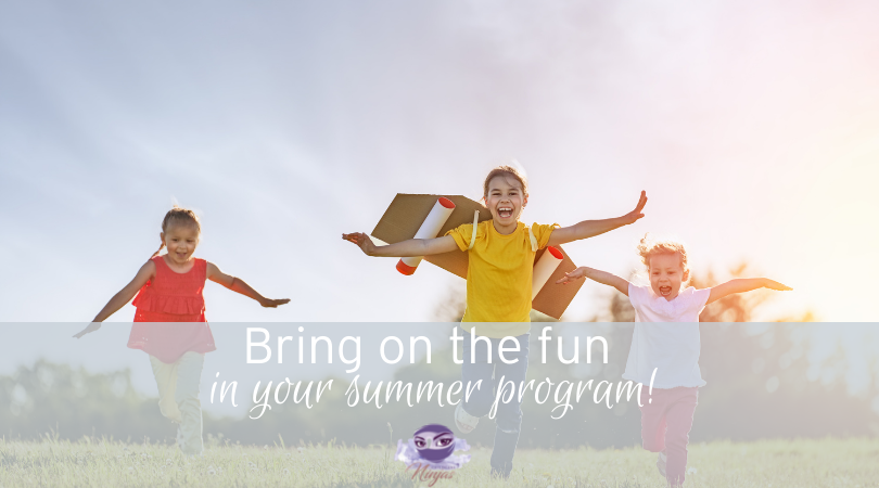 Bring on the fun in your summer childcare program!
