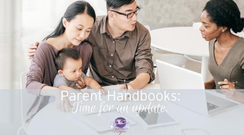 new family welcome parent handbook