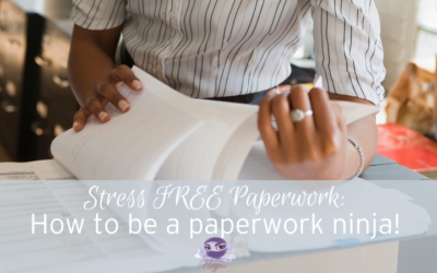 How to become a childcare paperwork ninja